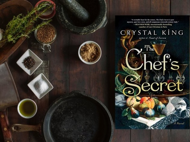 Crystal King's THE CHEF'S SECRET