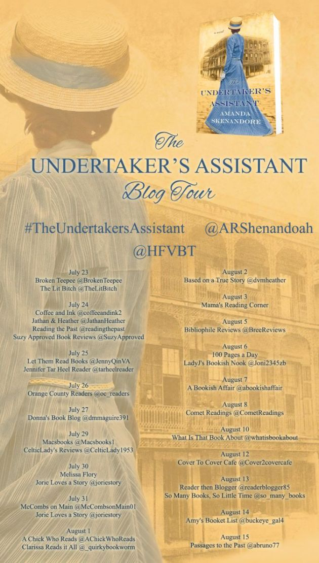 The Undertaker's Assistant Blog Tour Poster