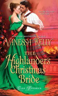 Vanessa Kelly's THE HIGHLANDER'S CHRISTMAS BRIDE