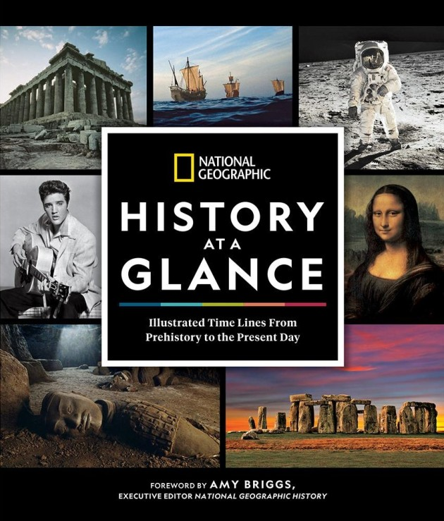 National Geographic's HISTORY AT A GLANCE