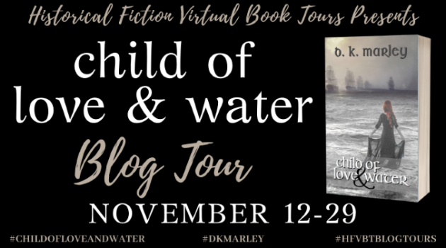 Child of Love and Water_Blog Tour Banner