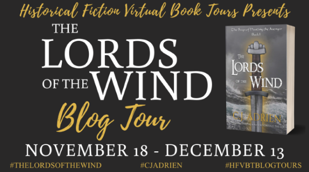 The Lords of the Wind_Blog Tour Banner