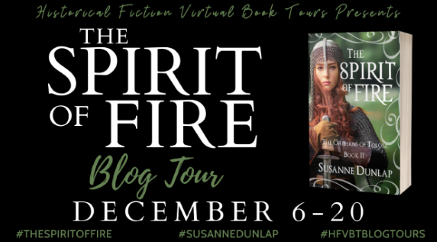 The Spirit of Fire_Blog Tour Poster