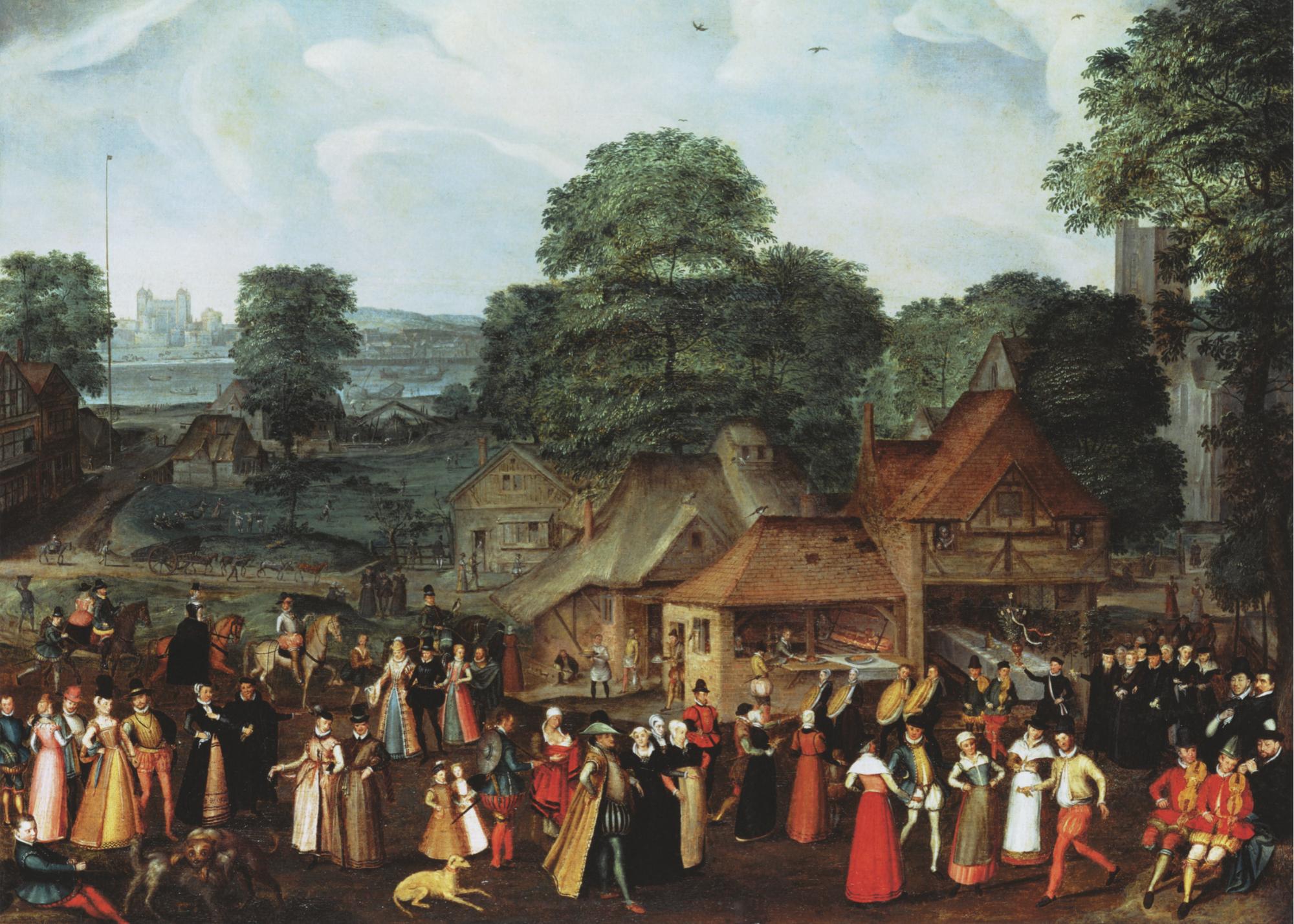 A Wedding Feast, c. 1569
