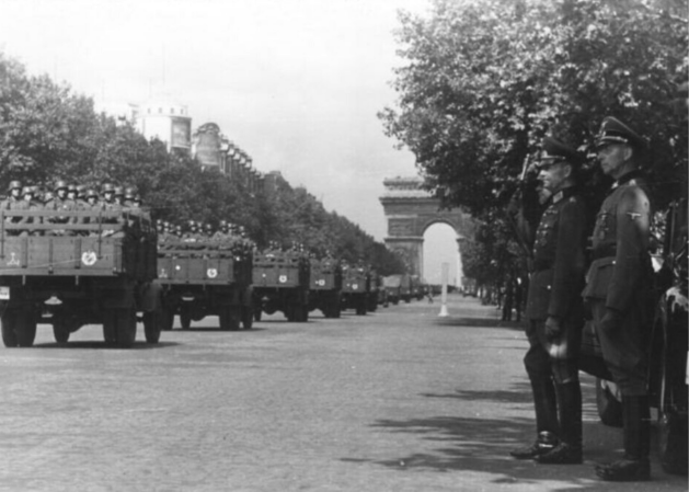 Paris, France in 1942
