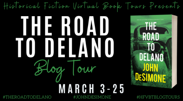 The Road to Delano_Blog Tour Banner
