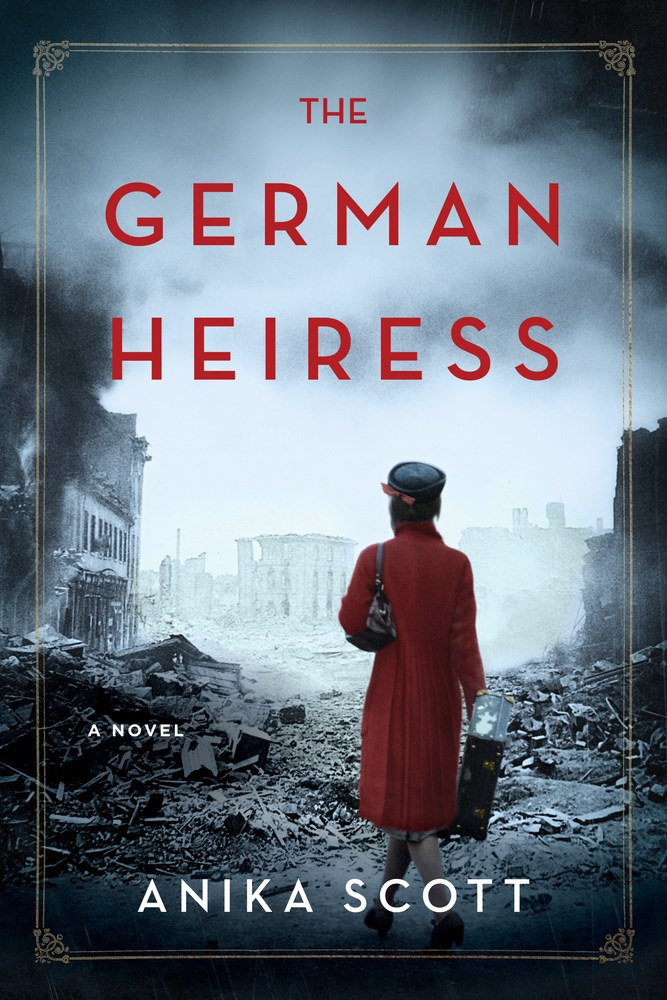 Anika Scott's THE GERMAN HEIRESS