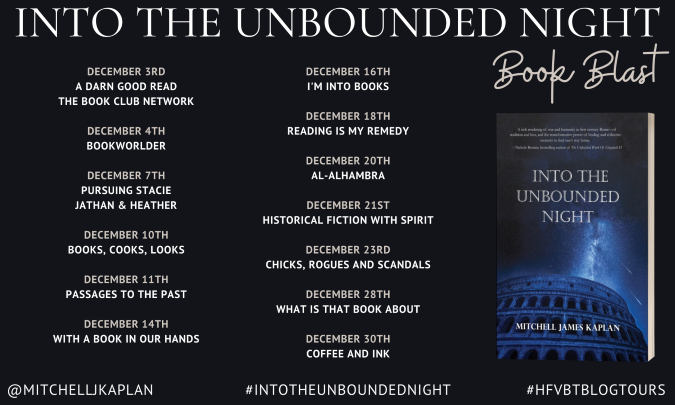 INTO THE UNBOUNDED NIGHT Book Blast