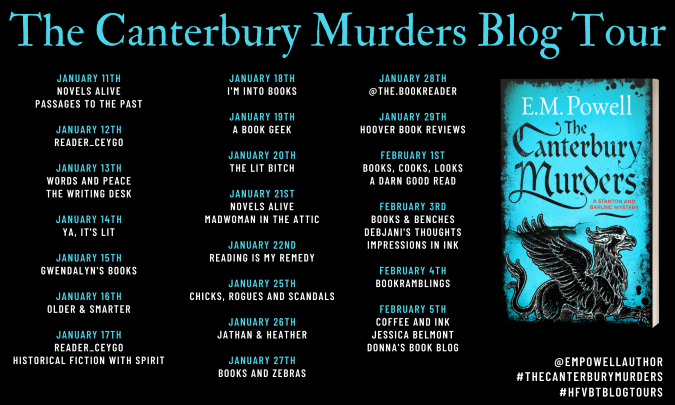The Canterbury Murders blog tour