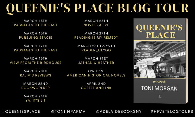 Queenie's Place Blog Tour banner