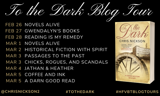 To the Dark Blog Tour